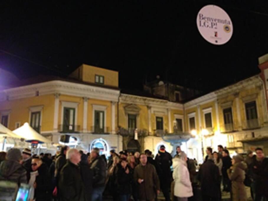 festa nella nostra piazza. the heart of Gragnno