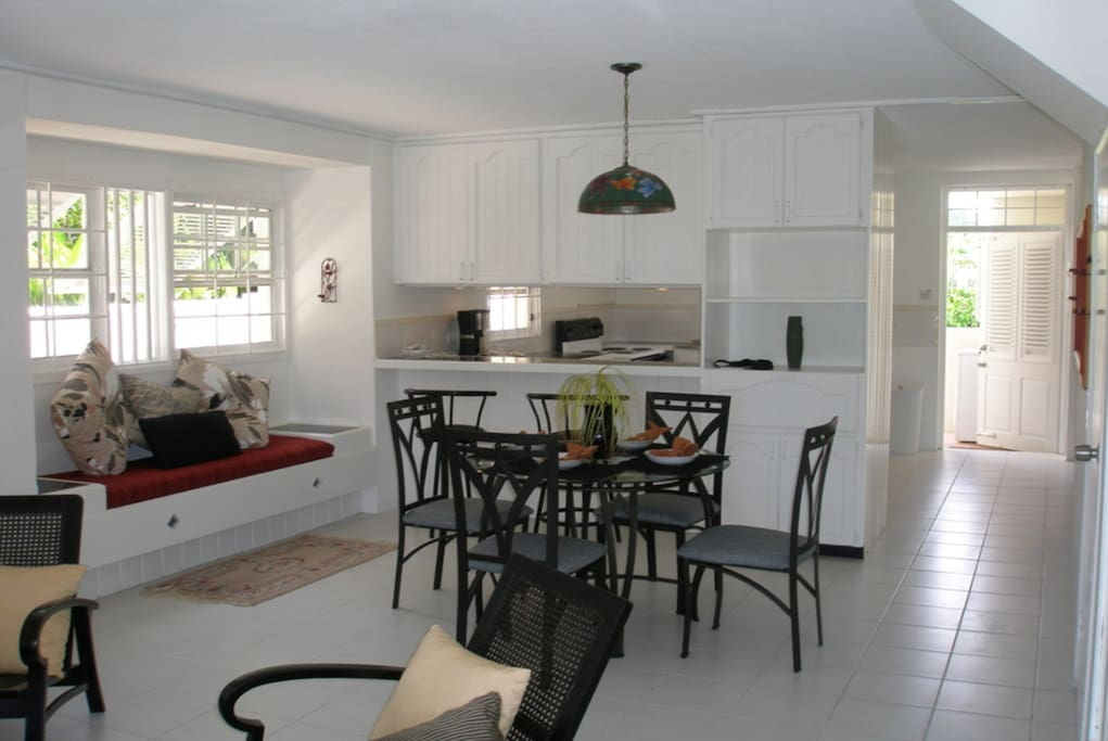 Open Living & Dining Area