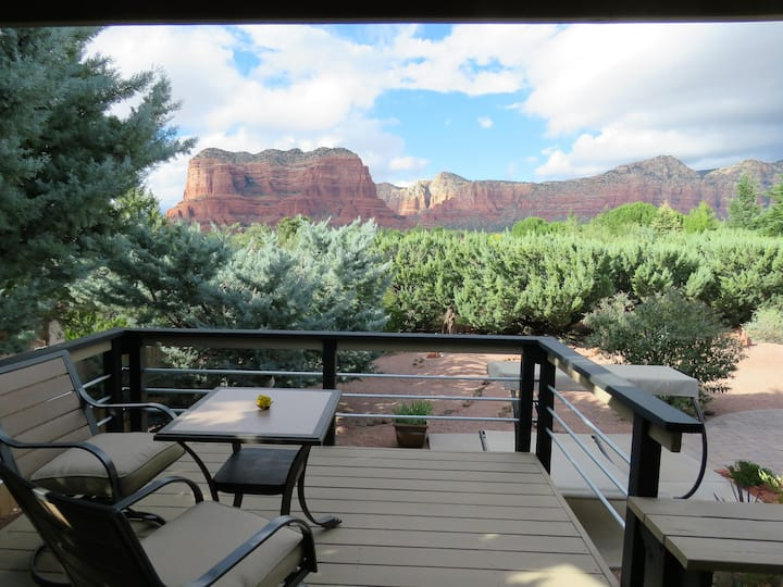 Casita with Million Dollar Red Rock Views