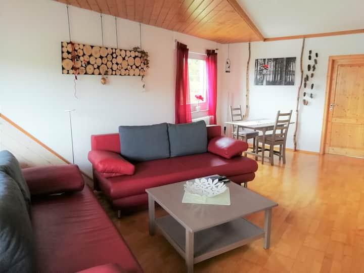 Ferienwohnung Brasil, (Schonach), Ferienwohnung Brasil, 76 qm, 1 Schlafzimmer, 1-4 Personen