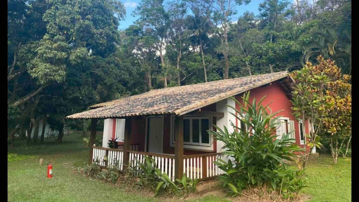 Casa de campo em fazenda frente mar com lazer