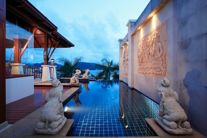Patong Seaview【 Private Sauna Villa 】,芭東海景* 私人桑拿別墅