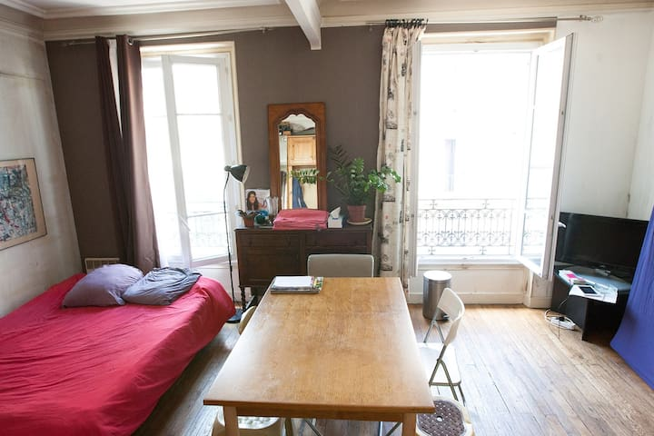 1 guest shared room with a writter in Montmartre - Paris - Bed & Breakfast