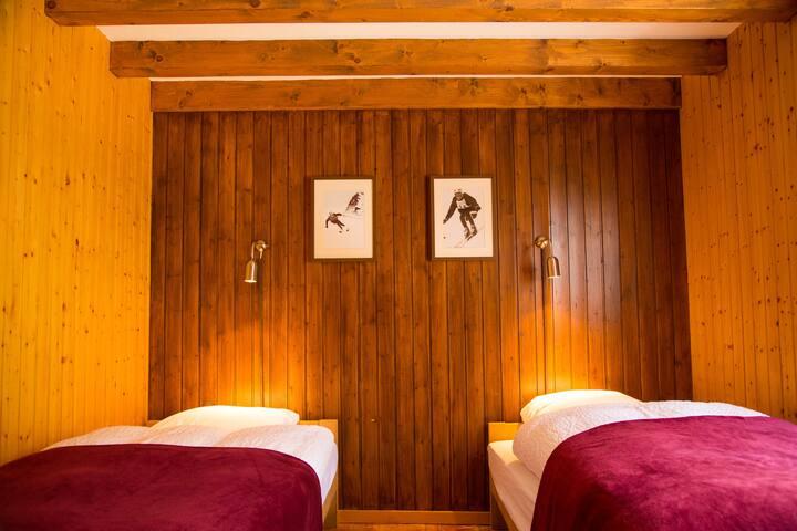 Hameau les Clèves, Twin Room (Atomic), Nendaz