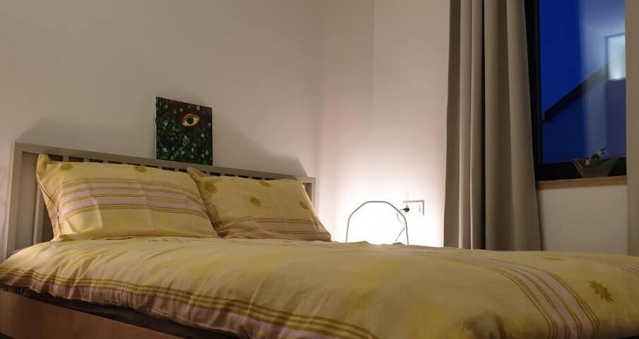 Sleeping room (double bed)