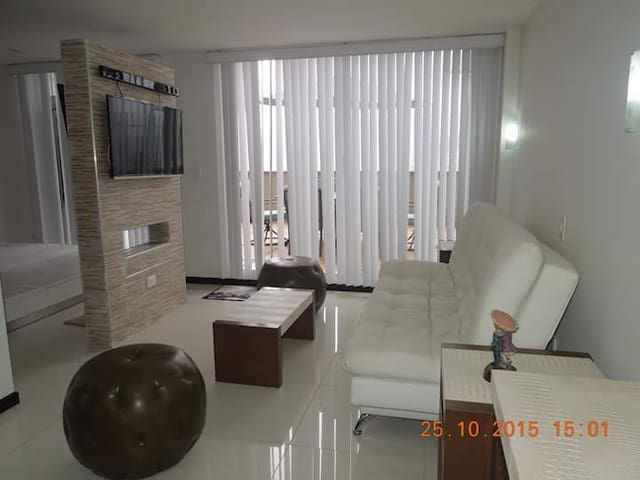 luxurious modern comfortable safe. - Manizales - Apartment