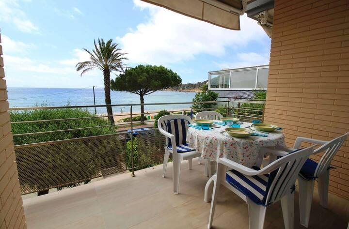 Apartamento en primera línea de playa de Sant Pol