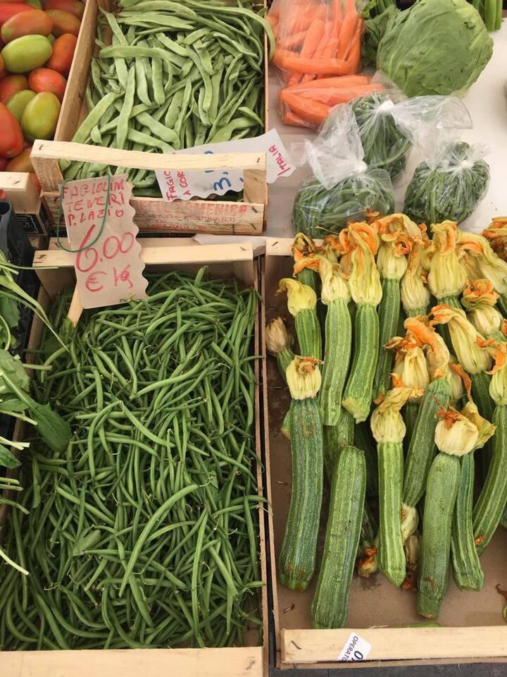 Try fresh seasonal produce