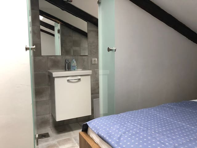 Very small room in the heart of the city of Rijeka