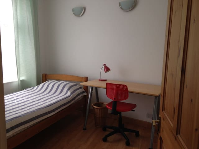 Large, comfortable, single room in quiet home - Surbiton - Talo