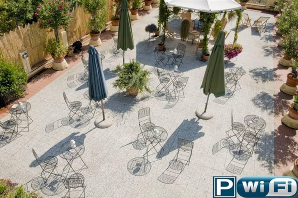 terrazza panoramica  ad uso comune
