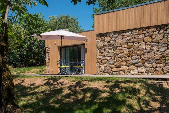 L'Ôlive - jolie maison écologique 2 personnes