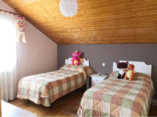 Acogedora habitación privada próxima a la costa