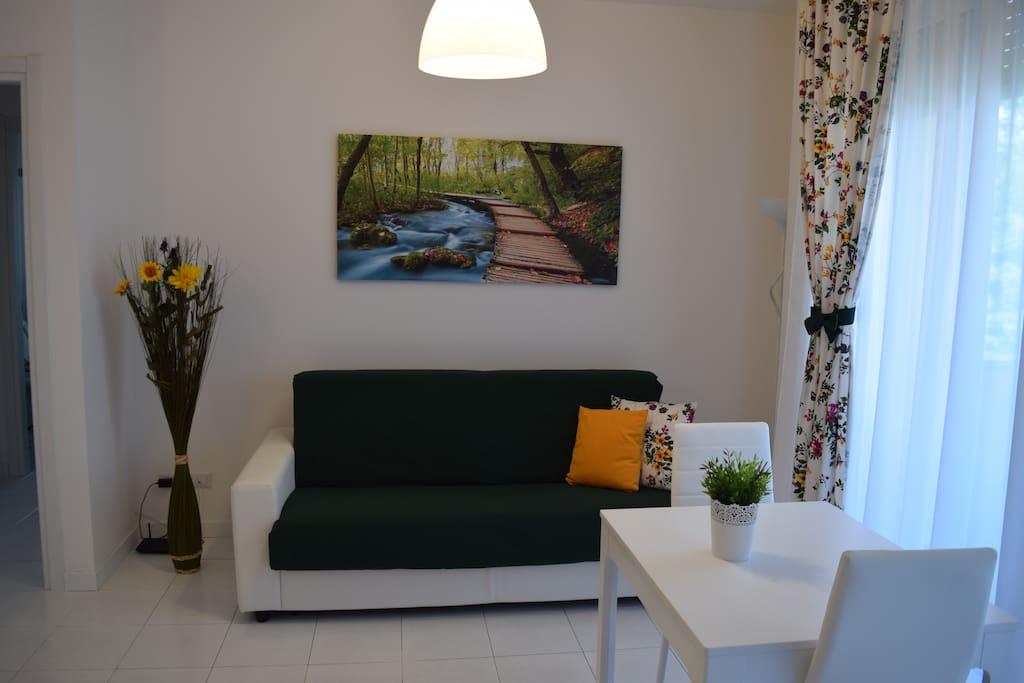 Divano letto Soggiorno / Living Room Sofa bed