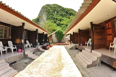 Cute Bungalow On Beach - 3rd Row - Ao Nang - Bungalov