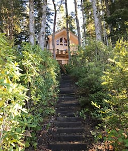 Tenmile Lake House with a beautiful view