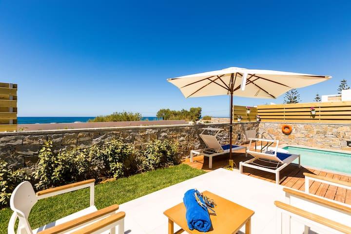 Thalasses Villas - Villa Thoi by the beach!