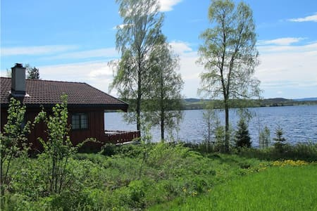 Festly mountain cabin by Lake Næra with Sauna