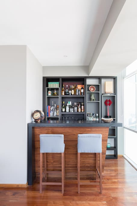 The best on the house: The bar
