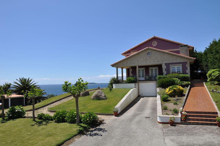 (R) Habitación doble en casa San Vicente do Grove