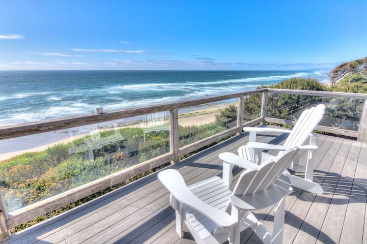 Ocean Front Home With Spectacular Views!