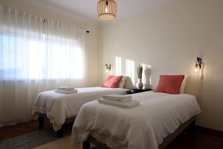 Bedroom #2 - Double single bed