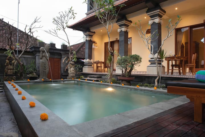 Double Room with Pool and Garden Vibration