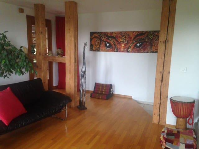 Cosy flat - Meikirch - Condominium