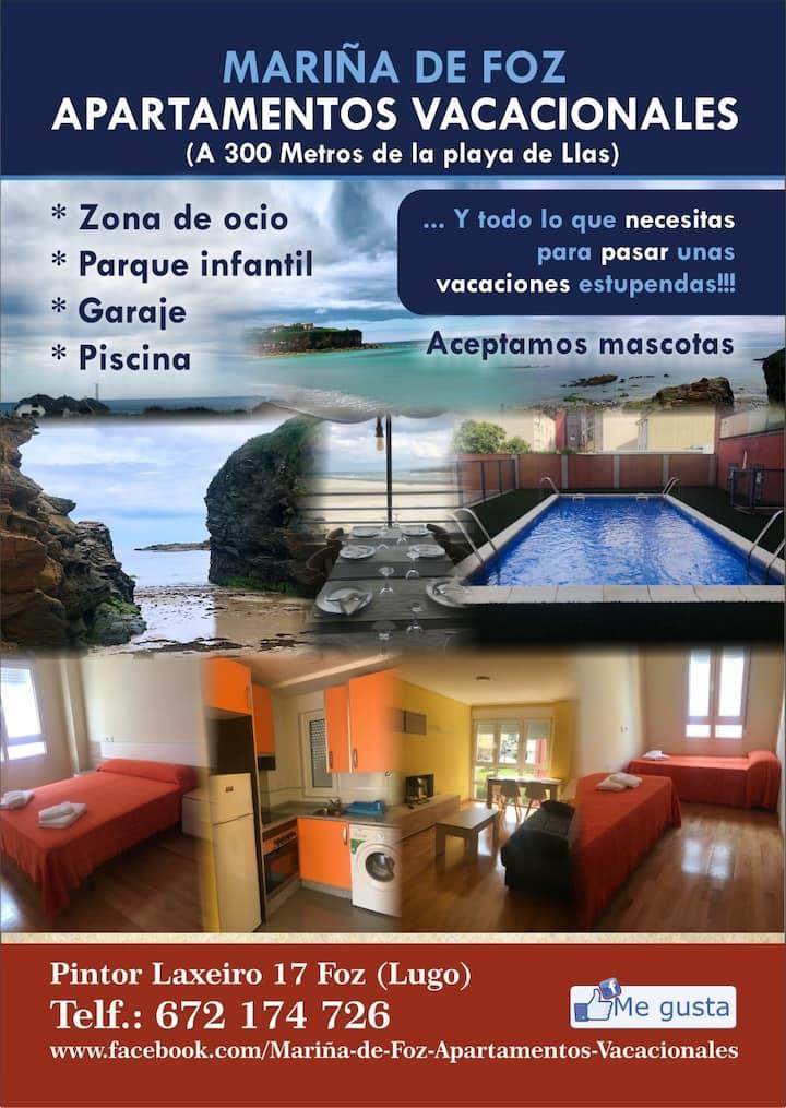 """""""Apartamentos vacacionales Mariña de Foz 3"""""""