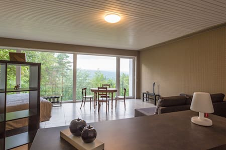 Studio with a stunning view in Spa
