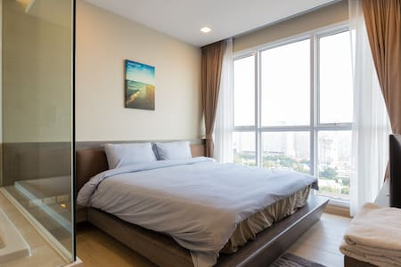 BEACHFRONT 3BR ULTRA LUXURY CONDO PATTAYA CETUS - Muang Pattaya - Condominium