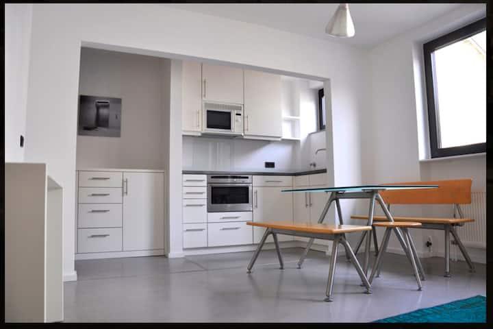 Kompromissfreie Wohnung im Kern von Düsseldorf