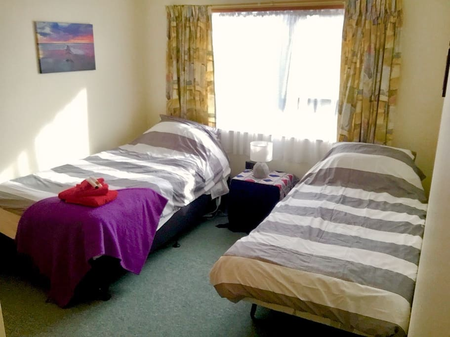 Private room, king-single and single bed