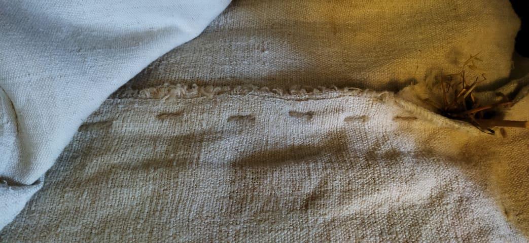 Straw mattress