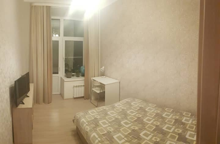 Double room in the two rooms flat Moscow Centre