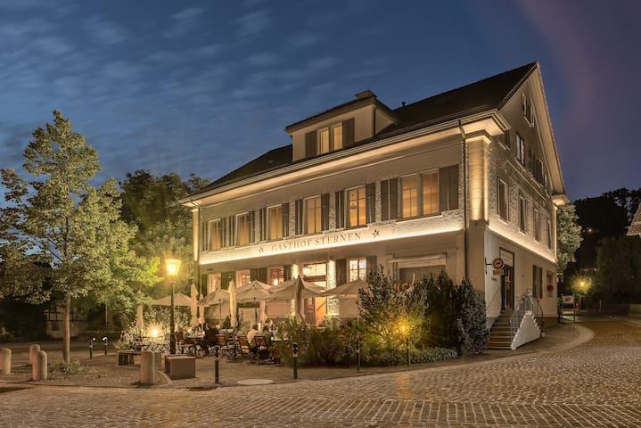 Idyllischer Landgasthof im Grossraum Zürich