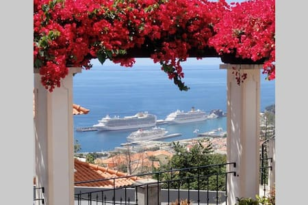 Botanical Garden. Queen bed with great view - Funchal