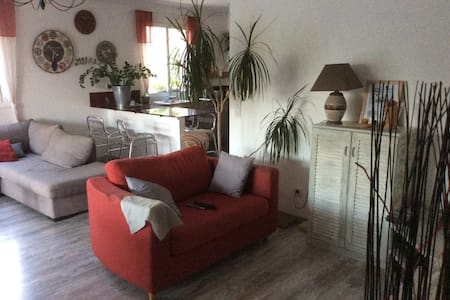 Maison confortable entre Cannes et Grasse - Mouans-Sartoux - Huis