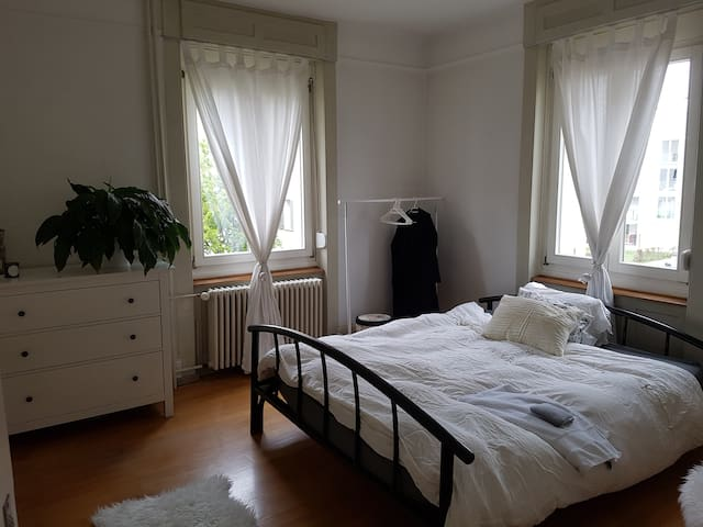 Bright room in a charming apartment in Zurich - Zurych - Apartament