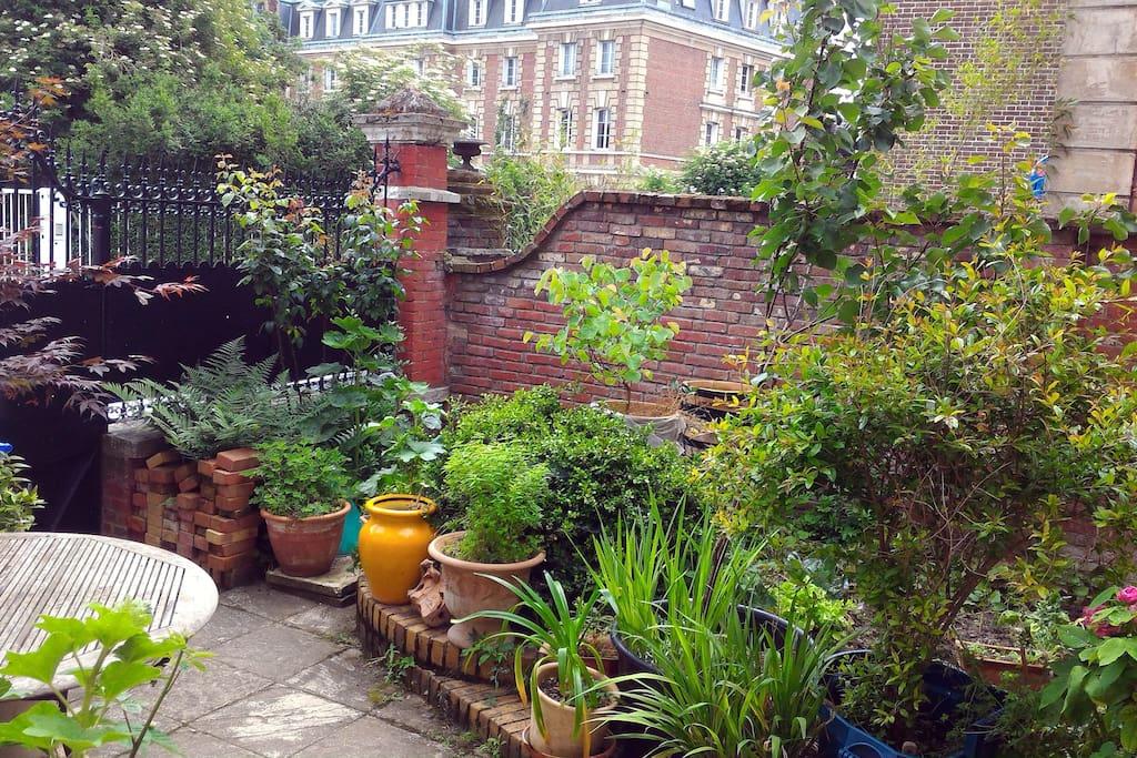 le jardinet en été