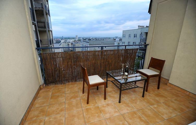 Apartament z pięknym widokiem La Apartamento - Cracóvia - Apartamento