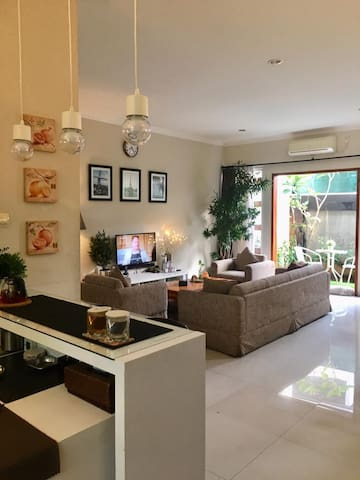 Cozy 2BR Family House in Kemang (Long Term Stay)