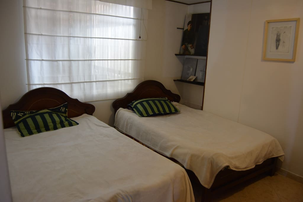Twin room with king size beds