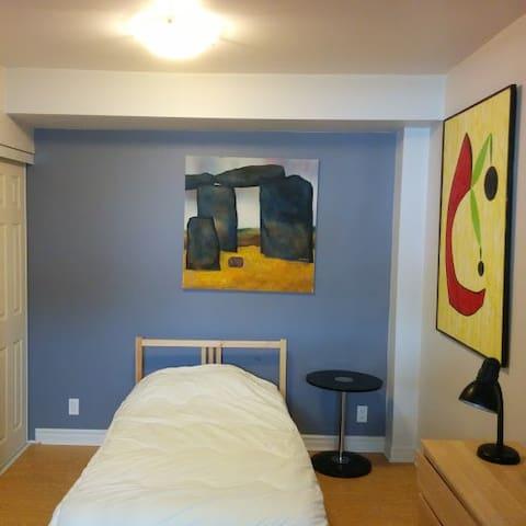 Chaleureux Studio, voisinage recherché - Montreal