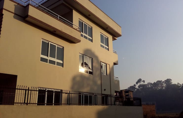 Matrika's home at Dhumbarahi Ringroad. - Katmandu