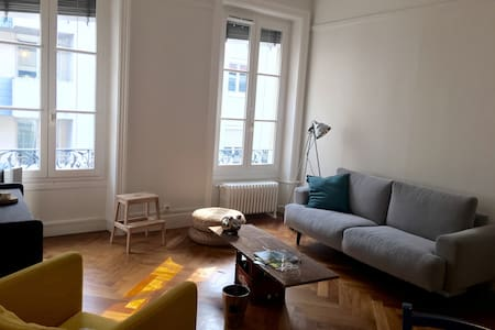 Quiet&cosy flat in the city center - Lyon - Apartment