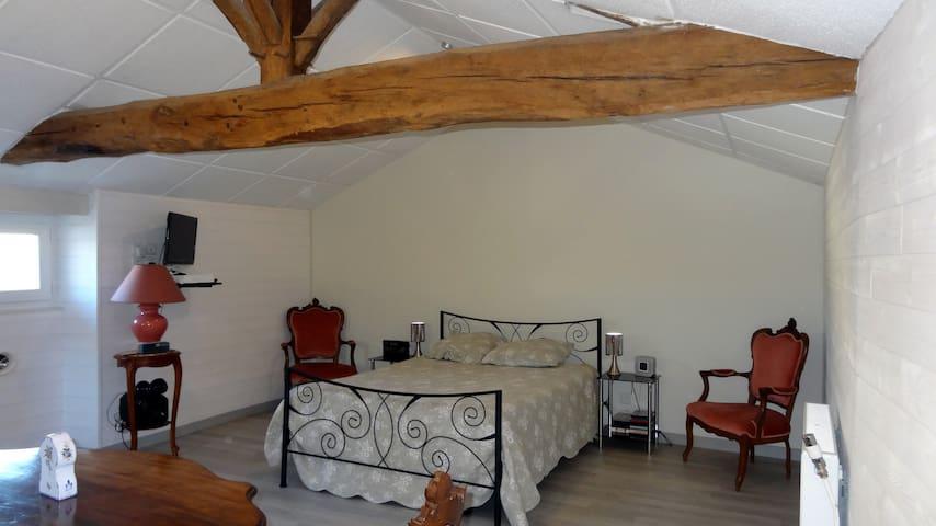 Chambre 25 m² tout confort chez l'habitant - Birac - Casa