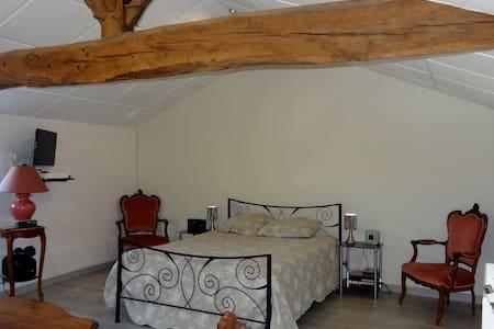 Chambre 25 m² tout confort chez l'habitant - Birac