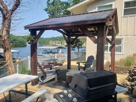 Lake Ozark Home with Gazebo, Dock & Great Location