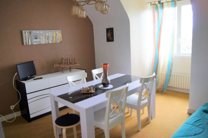 agréable T3 pour 6 pers à 10 mn à pied de la plage - Saint-Jean-du-Doigt - Apartment